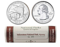 Yellowstone P Mint Quarter Roll