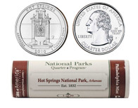 Hot Springs P Mint Quarter Roll