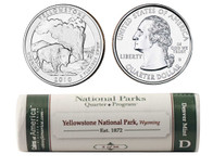 Yellowstone D Mint Quarter Roll