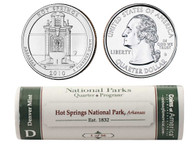 Hot Springs D Mint Quarter Roll