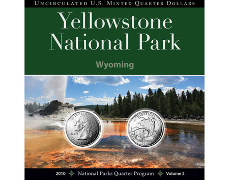 Yellowstone Quarter Collection 2010 National Park