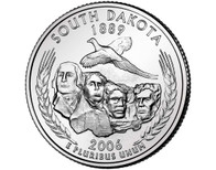 2006 South Dakota Quarter P Mint