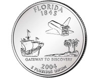 2004 Florida Quarter P Mint