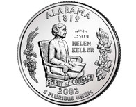 2003 Alabama Quarter D Mint