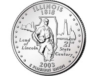 2003 Illinois Quarter D Mint