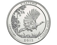 Kisatchie National Forest Quarter  P - 2015