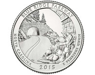 Blue Ridge Parkway Quarter  D - 2015