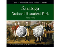 Saratoga National Historical Park Quarter Collection
