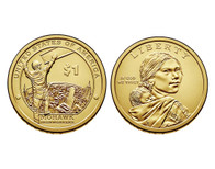 2015 Native American D Mint Dollar