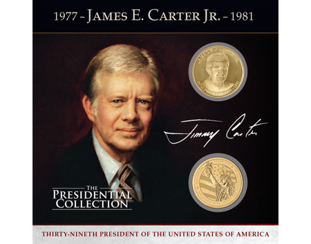 James Earl Quot Jimmy Quot Carter Presidential Commemorative Coin