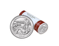 Theodore Roosevelt National Park P Mint Quarter Roll