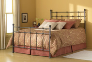 Fashion Bed Group Dexter Bed in Hammered Brown Finish