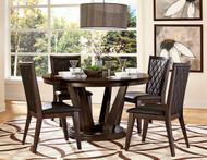 Homelegance Villa Vista 5 Piece Dining Set