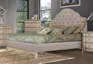 Homelegance Ashden Driftwood Upholstered Bed