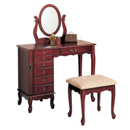 Coaster Laurel Elegant Vanity Set.