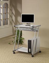 Coaster Adaline Contemporary Desk in Silver