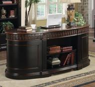 Coaster Nicolas Traditional Oval Executive Double Pedestal Desk