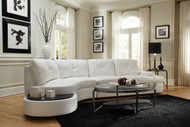 Coaster Talia Sectional with Built-In Table