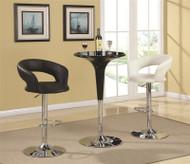 Coaster Jack Bar Table in Black