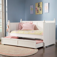 Coaster Fantasia Daybed in White