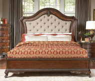 Homelegance Bonaventure Park 4-Piece Upholstered Bedroom Set Image 1