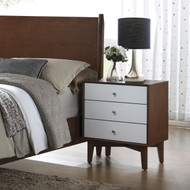 Coaster Charity Collection Mid-Century Modern 5-Piece Bedroom Set Nightstand