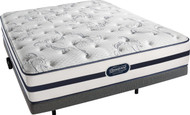 Beautyrest Recharge Jadite Plush Mattress with Leggett & Platt Falcon Adjustable Bed Set