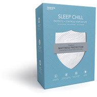 Fashion Bed Group Sleep Chill Mattress Protector with Soft and Moisture Resistant CoolMax Fabric