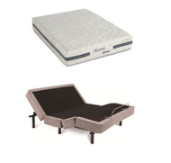 iDealBed Heavenly Hybrid Mattress 4i Adjustable Bed Set