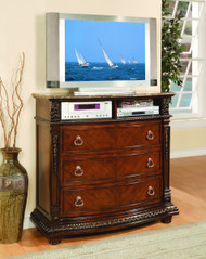 Homelegance Palace Collection Media Chest