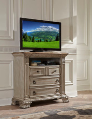 Homelegance Orleans II Collection Media Chest