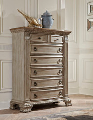 Homelegance Orleans II Collection Chest of Drawers