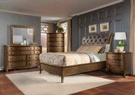 Homelegance Chambord Collection Antique Gold Finish Bed