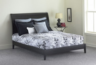 Fashion Bed Group Java Modern Platform Bed in Black