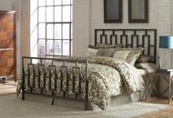 Fashion Bed Group Miami Iron Bed in Coffee