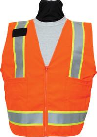 SECO 8292 Safety Utility Vest- Flo Orange or Flo Yellow