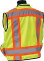 SECO 8265 Safety Utility Vest - Flo Orange or Flo Yellow