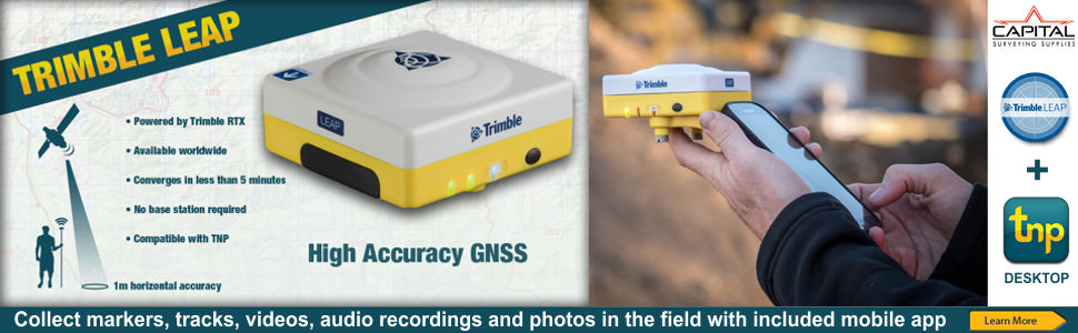 NEW Trimble Leap GNSS Receiver and Terrain Navigation Pro Desktop
