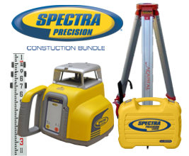 Spectra Precision LL300N Laser Level Bundle Special