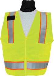 SECO 8292 Safety Utility Vest- Flo Orange or Flo Yellow