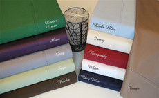 Aloha Collection - 400 Thread Count Egyptian Cotton Split King  Sheets