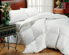 Oversized White Goose Down Comforters