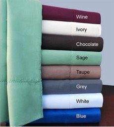 Impressions Collection - 600 Thread Count Hem Stitch Split King Sheets