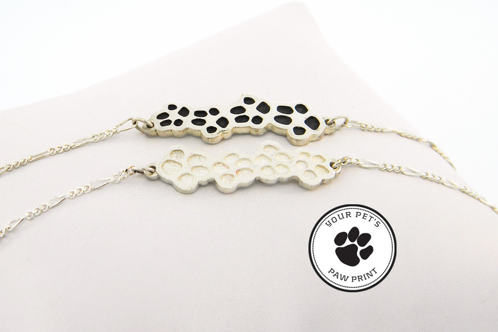 Journey Bracelet with Custom Paws