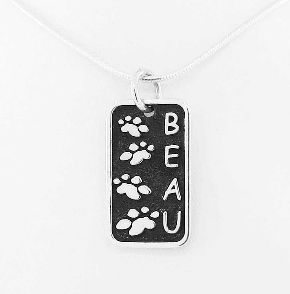 Journey Companion Tag with Raised Details