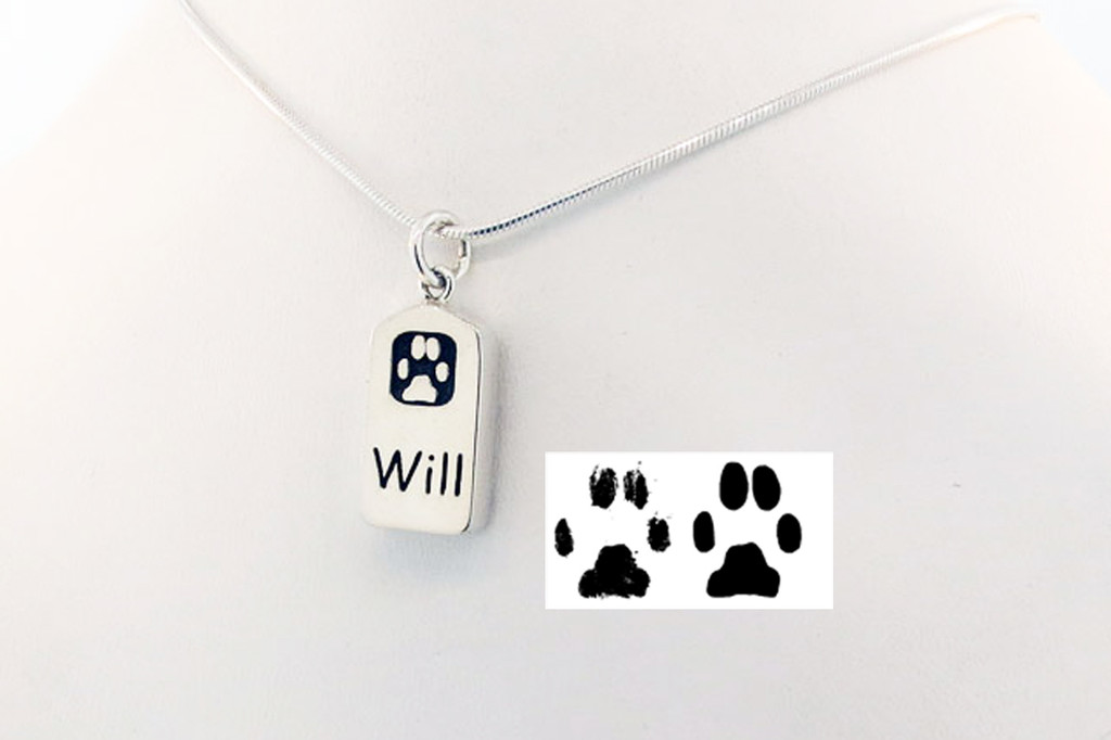 Loyalty Tag with Custom Paw - Keepsake