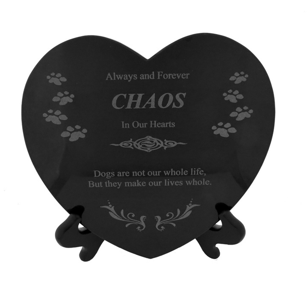 4 Paws Granite Heart - Dog Lover