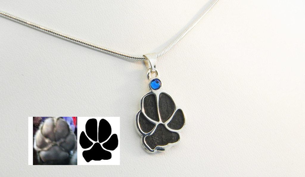 Shown with Black Paw