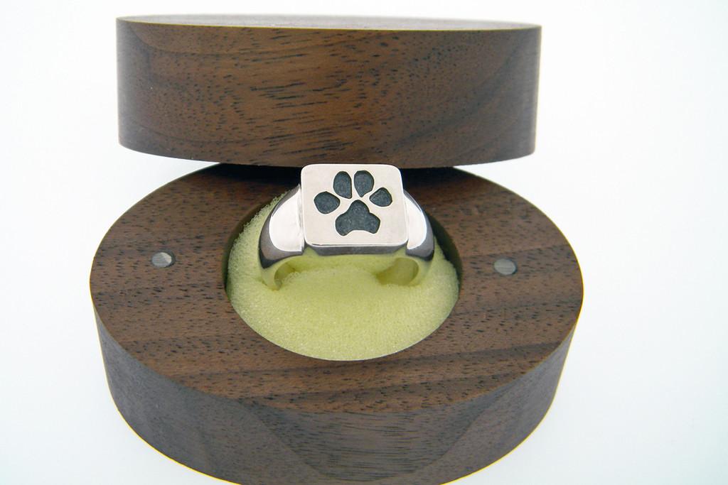 Single Paw Ring with Custom Paw
