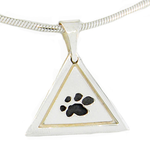 Great Paw Pendant with Recessed Details